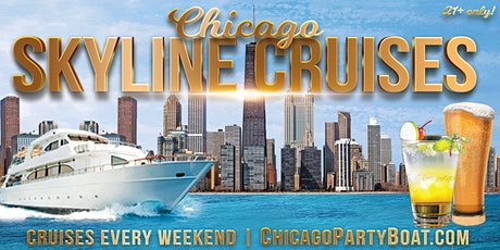 Chicago Skyline Cruises on Lake Michigan (21+ Only) tickets