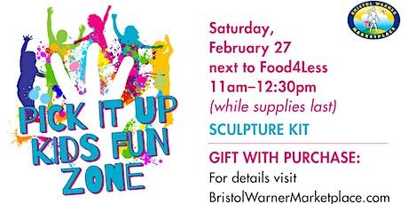 FREE Craft Kits With $20 Purchase At  Bristol Warner Marketplace KFZ tickets