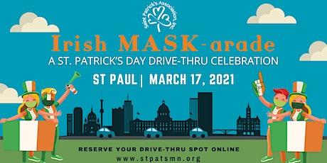 An Irish MASK-arade: A St. Patrick's Day Drive-Thru Celebration tickets