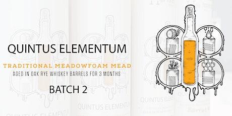 Quintus Elementum B2 Bottle Release tickets