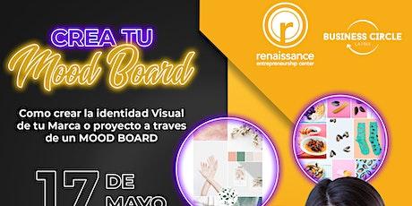 Crear la identidad Visual de tu Marca o proyecto a traves de un Mood Board boletos
