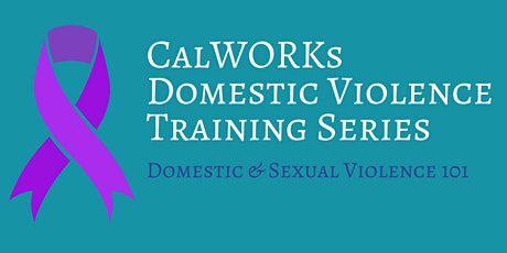 Domestic and Sexual Violence 101 Training tickets