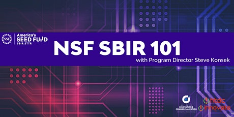 National Science Foundation SBIR 101 tickets