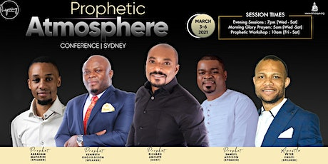 Prophetic Atmosphere Conference 2021 tickets