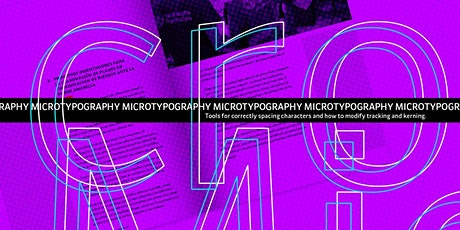 Micro Typography tickets