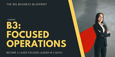 [5-Day Mentoring] Focused Operations: Transformative Leadership tickets