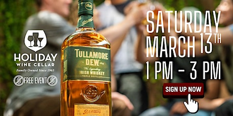#FreeSips| Tullamore Dew Irish Whiskey | HWC 56th Anniversary Kick-Off tickets