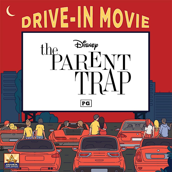 Drive-In Movie Featuring The Parent Trap image