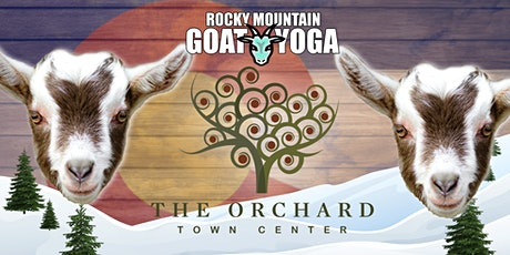 Goat Yoga - March 27th  (Orchard Town Center) tickets