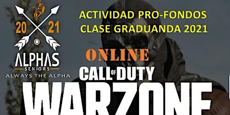 """""""WarZone"""" DUOS Fundraising Tournament tickets"""