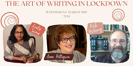 The Art of Writing in Lockdown tickets