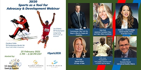 30/30 – Sports as a Tool for Advocacy and Development Webinar tickets