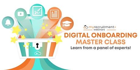 Digital Onboarding Master Class. Learn from a panel of experts! (U.S) tickets