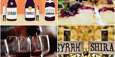 "Blind tasting of ""Powerhouse Reds - Syrah, Shiraz, and Petite Sirah"" tickets"