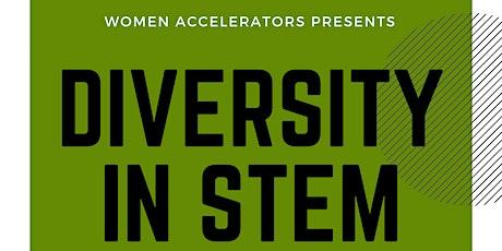 Diversity in STEM Panel tickets