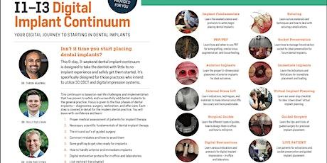 Digital Implant Continuum (Aug/ Oct 2021) tickets