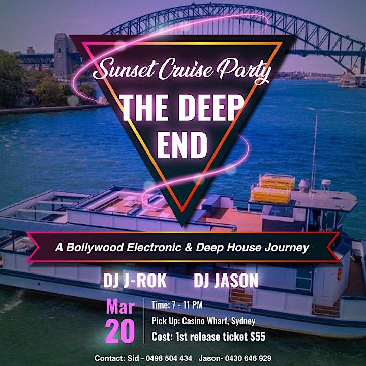 Sunset Cruise Party - Deep House Bollywood image
