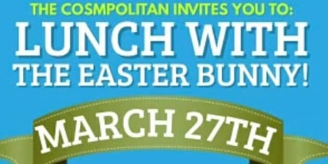 LUNCH WITH THE EASTER BUNNER tickets