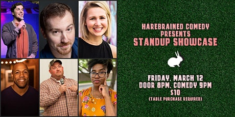 Harebrained Comedy presents Standup Showcase (3/12) tickets