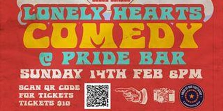 Lonely Hearts Comedy @ Footscray Pride Bar - Rescheduled tickets
