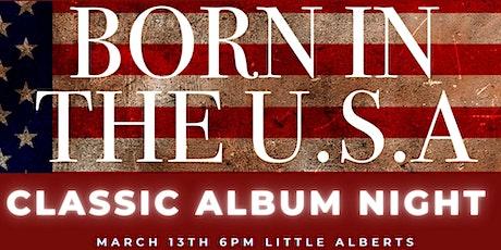 Bruce Springsteen - Classic Album Night. SHOW 1:  13/3/21 tickets