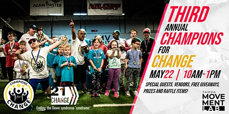3rd Annual Champions for Change tickets