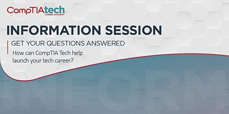 CompTIA Tech Career Academy Information Session tickets