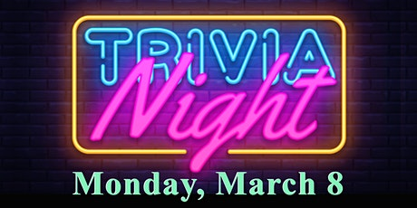 Trivia Night ~ Zoom tickets