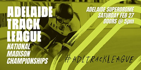 Adelaide Track League - National Madison Championships tickets