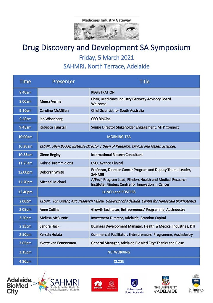 Drug Discovery and Development SA Symposium image