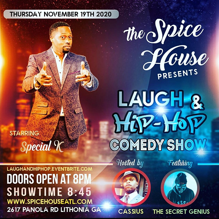 LAUGH & HIP HOP COMEDY SHOW at The Spicehouse * free image