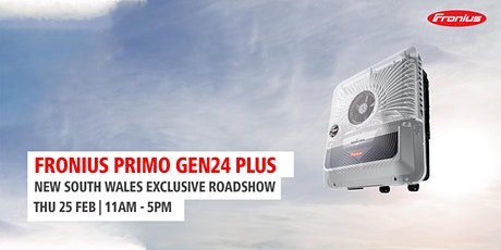 Primo GEN24 PLUS Product Launch - NSW tickets