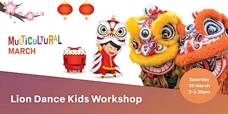 Lion Dance Kids Workshop tickets