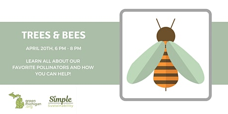 Bees & Trees - Virtual Sustainability Series tickets
