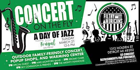 Concert On The Fly | Frugal On The Fly + Filthy Americans tickets