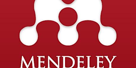 Mendeley – citas y referencias tickets