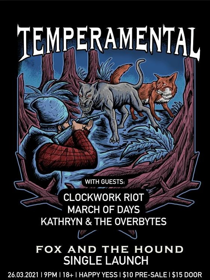 Temperamental - FOX AND THE HOUND Single Launch image
