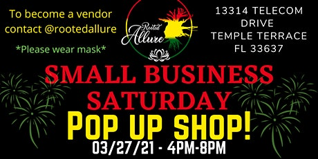 Small Businesses Saturday Pop Up Shop tickets
