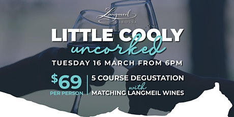 Little Cooly Uncorked Wine Dinner: Langmeil Wines tickets