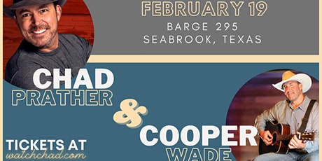 Chad Prather with Cooper Wade at BARge295 tickets