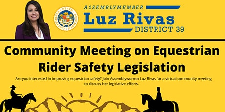 Equestrian Safety Community Meeting tickets