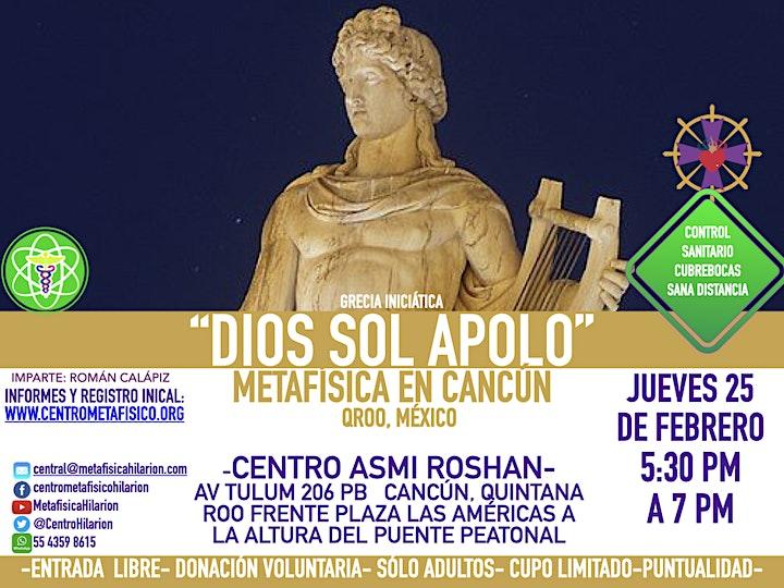 Imagen de APOLO: DIOS SOL- Metafísica en Cancún