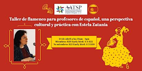 Perspectiva cultural y práctica sobre el arte del flamenco con Estela Zatan ingressos