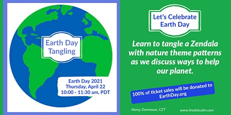 Earth Day Zentangle® Class tickets