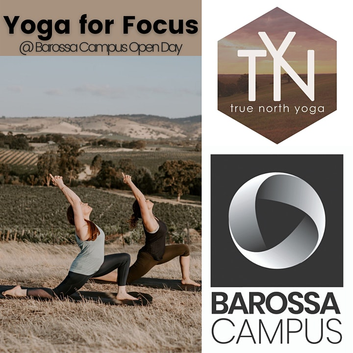 Yoga For Focus at Barossa Campus Open Day image