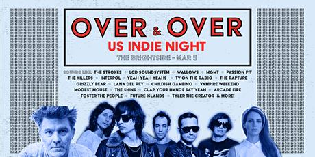 Over & Over - US Indie Clubnight tickets
