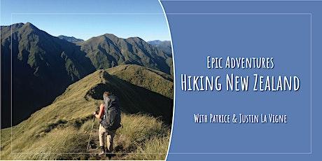 An Epic Adventure: Hiking New Zealand tickets