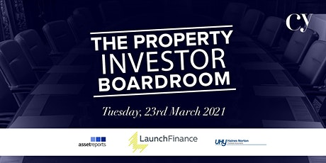 The Property Investor Boardroom tickets