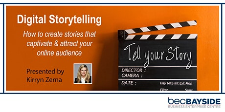 Digital Storytelling – Stories that captivate & attract your audience tickets