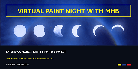 Virtual Paint Night  with MHB tickets
